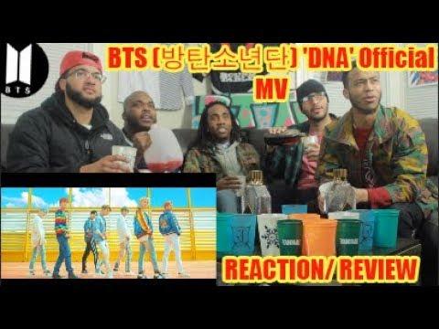 FIRST BTS (방탄소년단) 'DNA' Official MV REACTION/REVIEW