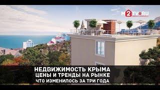 Недвижимость Крыма. Цены и тренды на рынке. Что изменилось за три года