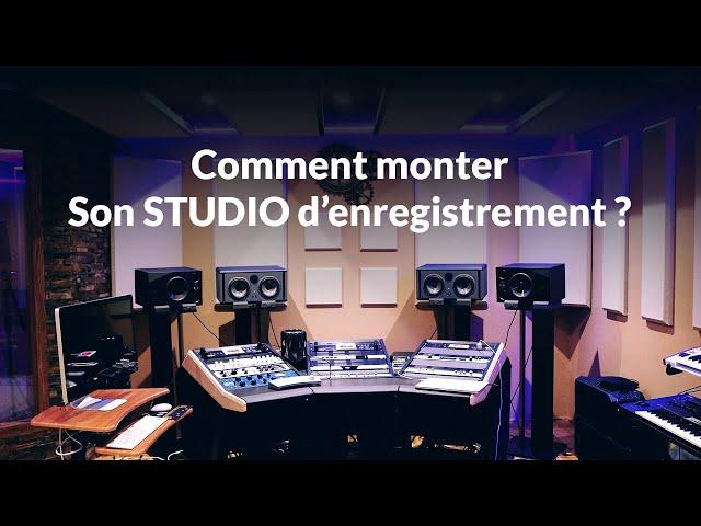 Les 5 équipements indispensables pour Monter un studio enregistrement ? [Mixage en Home Studio]