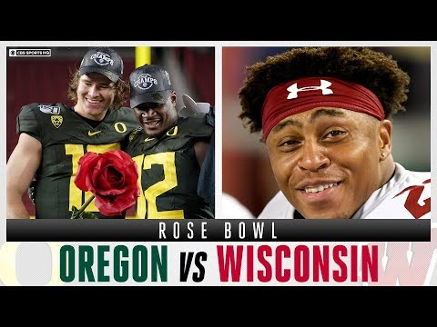 2020 Rose Bowl Expert Picks: #6 Oregon Vs #8 Wisconsin, Justin Herbert Vs Jack Coan | CBS Sports HQ