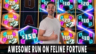 💰 HUGE WIN on FELINE FORTUNE 🐱 Mighty Cash PAYS DOUBLE! 🐲