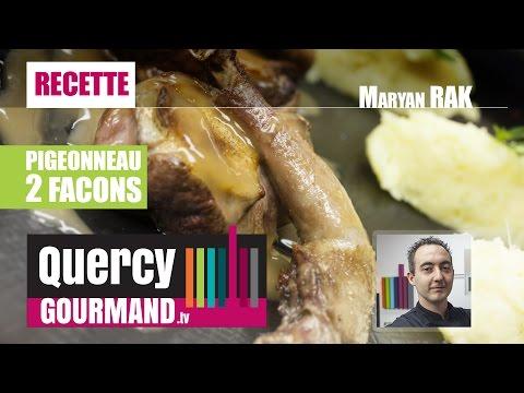 Recette : Pigeonneau en 2 façons & purée patate douce – quercygourmand.tv