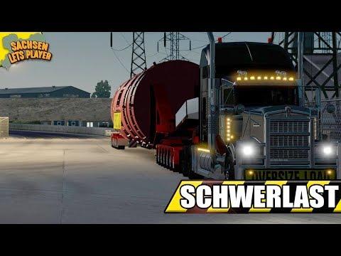 ATS Schwerlast #3 - Geschafft!  - American Truck Simulator Schwerlast Mod