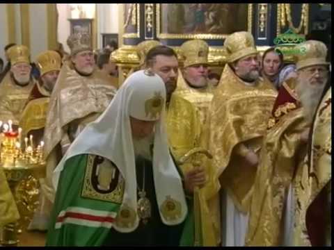 Трансляция Божественной литургии из Николо-Богоявленского морского собора города Санкт-Петербурга