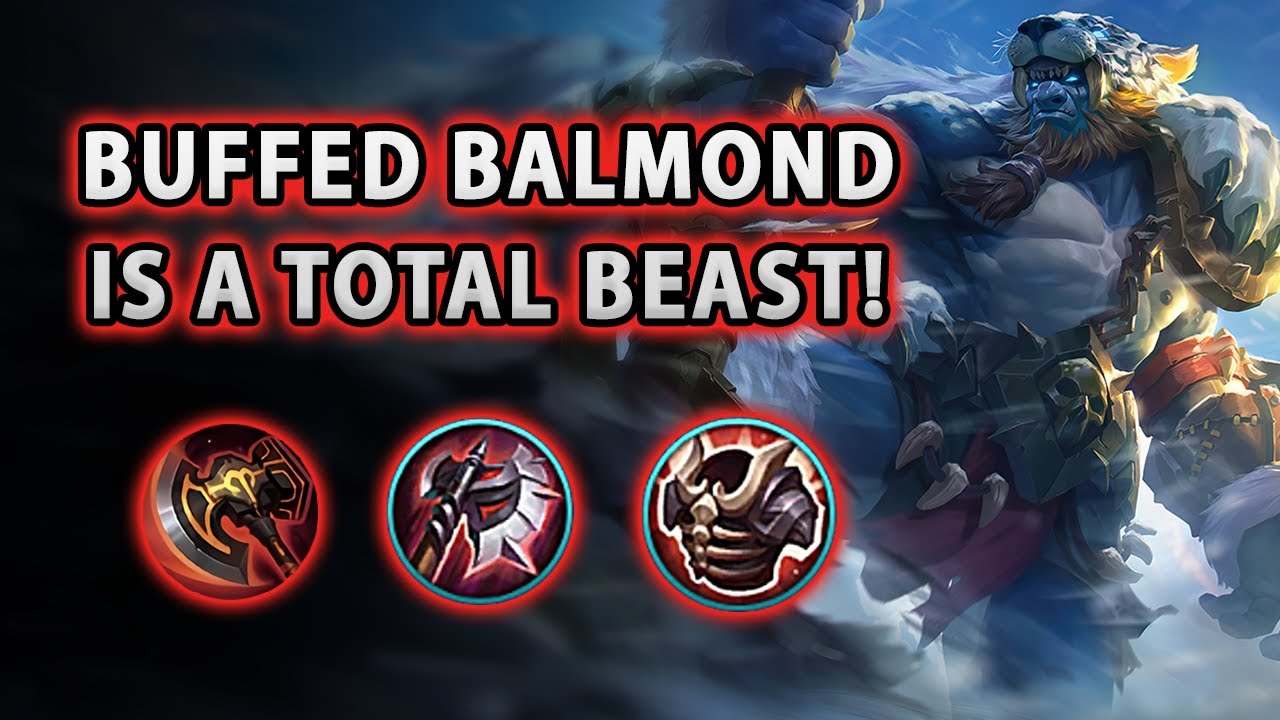 I Didn't Know Buffed Balmond Was Actually This Strong! | Mobile Legends