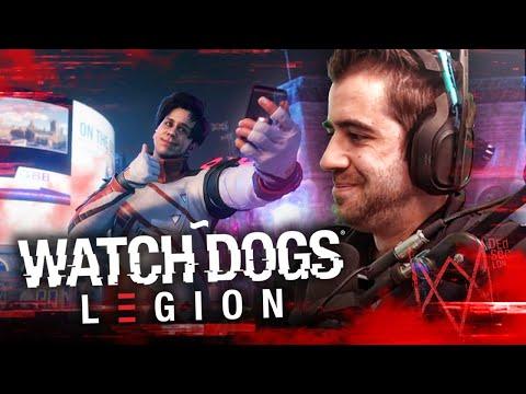 PROBANDO WATCH DOGS LEGION ft Rubius
