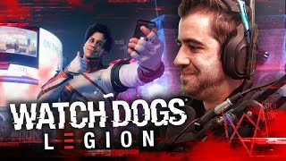 PROBANDO WATCH DOGS LEGION ft Rubius