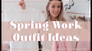 SPRING WORKWEAR OUTFIT IDEAS // #FashionMumblrSpringEdit