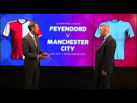 CHAMPIONS LEAGUE PREVIEW: FEYENOORD V MAN CITY