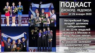 Австрийский Грац воздаёт должное победителям 11 из 12 ти медалей уезжают в Москву и Питер