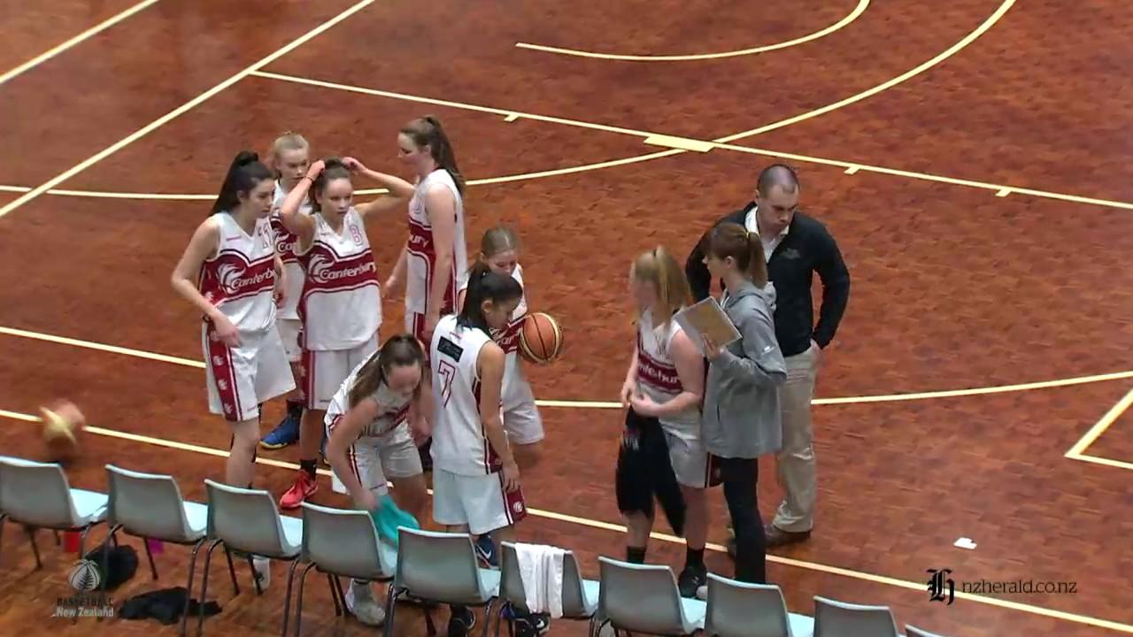 bd67446cf303 2017 U19 National Champs Womens Grand Final Canterbury V Waikato ...