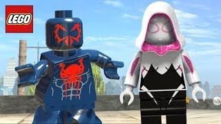 LEGO Marvel Super Heroes - HOMEM-ARANHA 2099 & SPIDER GWEN ENTREGANDO PIZZAS! #1 EXTRAS