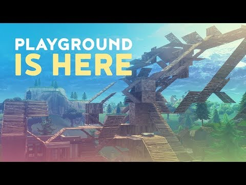 PLAYGROUND MODE IS HERE! - REMOVED FROM THE GAME EARLY (Fortnite Battle Royale)
