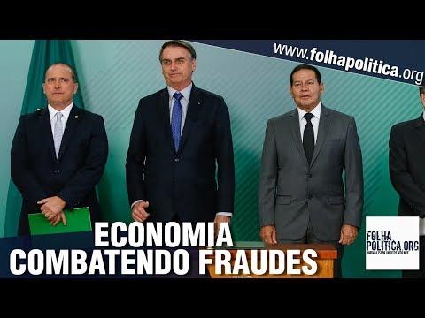 Governo Bolsonaro anuncia economia de R$9,8 bilhões com combate a fraudes, General Mourão..