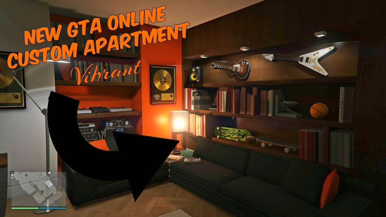 NEW GTA ONLINE CUSTOM APARTMENTS (2017) - YouTube