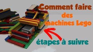 TuTo comment faire des machines lego + les étapes de construction