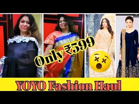 YOYO Fashion Haul*Designer Saree, Kurti collection/Cheap Prices 😲 Amazing Quality Product
