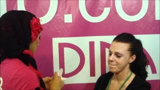 Dinair Airbrush Makeup Application MakeupShow NYC 2011 Thumbnail