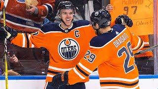 Connor McDavid and Leon Draisaitl (Evolution of the Best Duo in the NHL)