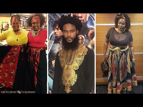 See the dazzling African-inspired fashion fans wore to 'Black Panther' premieres