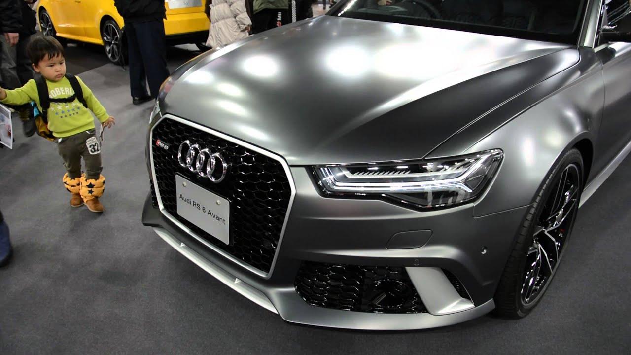 Audi Rs6 Avant Sapporo Motor Show 2016 札幌モーターショー2016