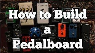 كيفية بناء الغيتار مجلس دواسة