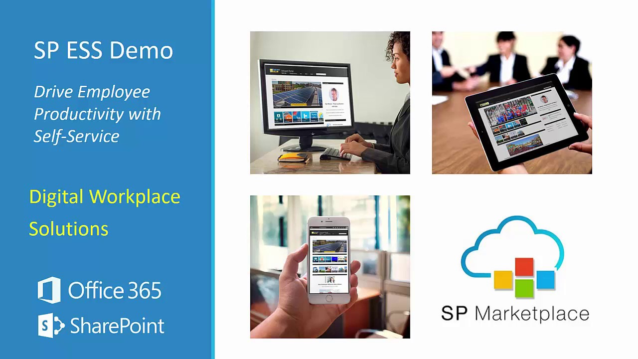 NOW in MODERN or CLASSIC UI: SP Employee Self-Service Portal for SharePoint  Office 365