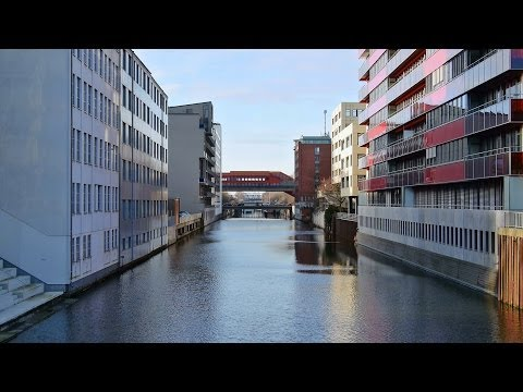 Hamburg: Hammerbrook (City Süd), Berliner Tor - Full HD VideobildFilm