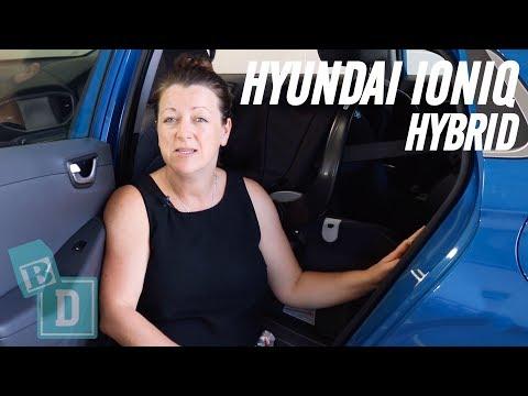 Family Car Review: Hyundai Ioniq Hybrid 2018
