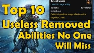 Top 10 Useless Removed Abilities No One Will Miss