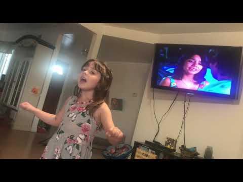 Gracie Singing High School Musical 2 I Gotta Go My Own Way