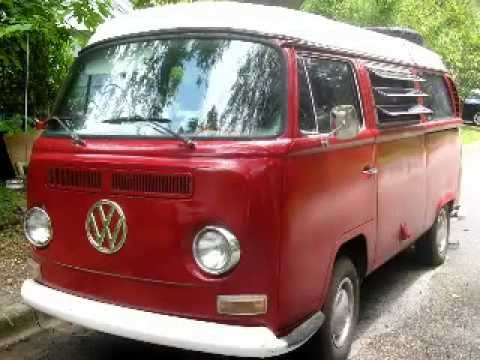 """Rosie"":1971 VW Campmobile bus restoration project"