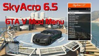 GTA V Mod Menu SkyAcro 6.5 [Xbox 360/1.27]
