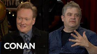 "Patton Oswalt & Conan Miss The ""Walker, Texas Ranger"" Lever - CONAN on TBS"