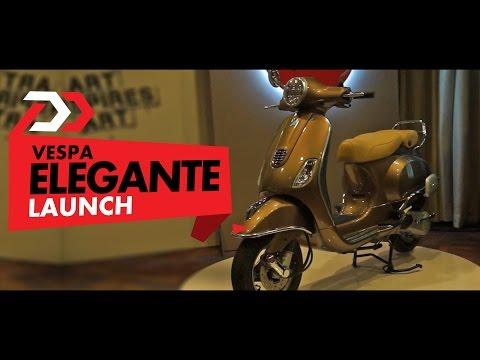 Vespa Elegante Launch Review
