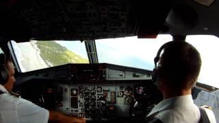 HD Gopro Cockpit Landing Rangiroa