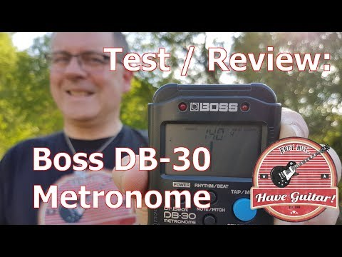 Boss DB-30 Dr. Beat Metronome - Review / Test
