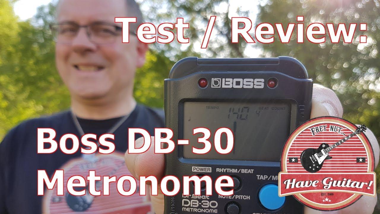 Boss DB-30 Dr Beat Metronom