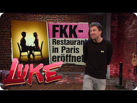 Nackte Tatsachen - FKK-Restaurant in Paris -  LUKE! Die Woche und ich | SAT.1