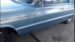 1964 chevy impala SS blue / blue og
