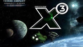 X3 Terran Conflict. Постройка и запуск станций и узлов.