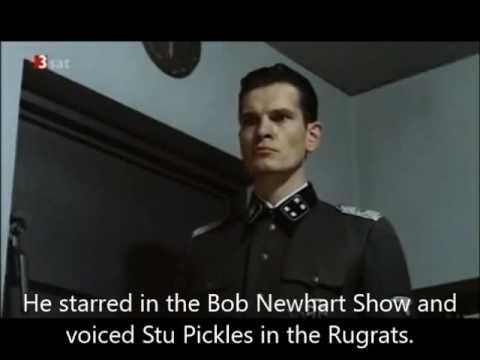 Hitler is informed that Jack Riley has died