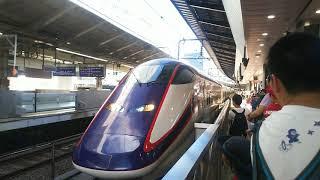 山形新幹線 つばさ145号 新庄行き E3系と東北新幹線 やまびこ145号 仙台行き E2系   2019.06.16