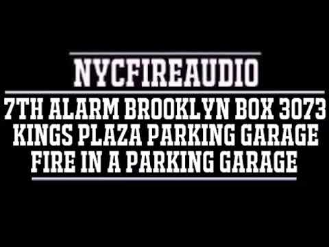 NYCFireAudio - FDNY Brooklyn 7th Alarm Box 3073 Audio - Fire In A Parking Garage - 9/17/18