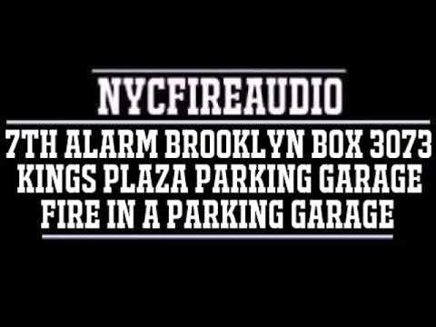 NYCFireAudio - FDNY Brooklyn 7th Alarm Box 3073 Audio - Fire In A Parking Garage - 9/17/18