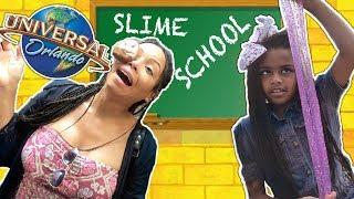 Slime School Field Trip - Solve Hidden Clues! - New Toy School