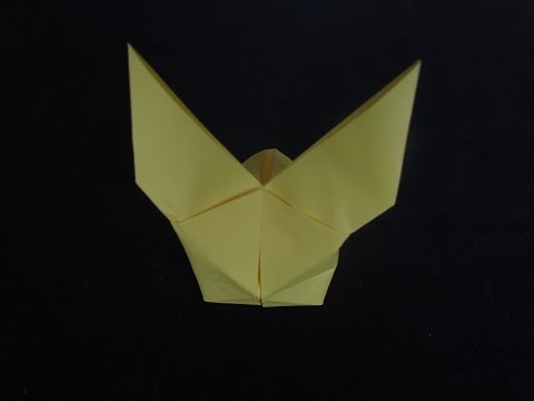 How To Make An Origami Inflatable Rabbit