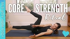 Core Strength Ritual - Yoga With Adriene