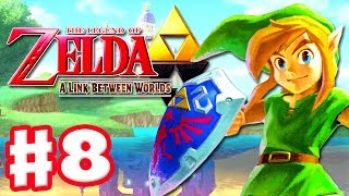 The Legend of Zelda: A Link Between Worlds - Gameplay Walkthrough Part 8 - Master Sword (3DS)