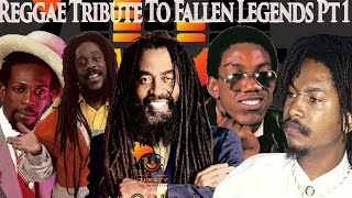 Reggae Tribute To Fallen Legends Pt.1Garnett Silk,Gregory Isaccs,Frankie Paul,Dennis Brown,John Holt - Stafaband